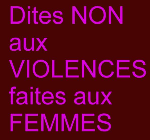 montreal157 dites non aux violences faites aux femmes. Black Bedroom Furniture Sets. Home Design Ideas